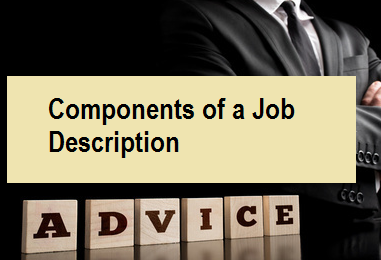 Components of a Job Description