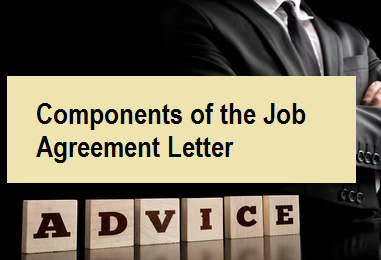 Components of The Job Agreement Letter
