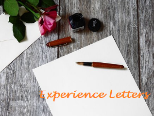 Experience Letters