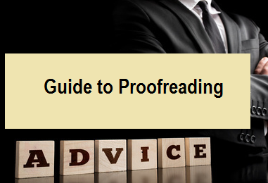 Guide to Proofreading