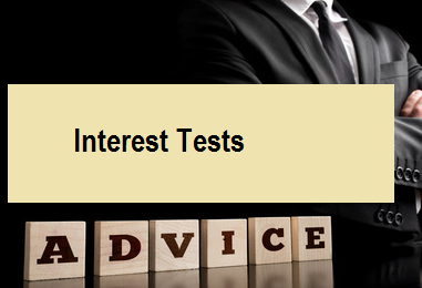 Interest Tests