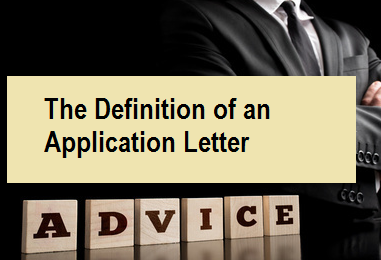 The Definition of an Application Letter