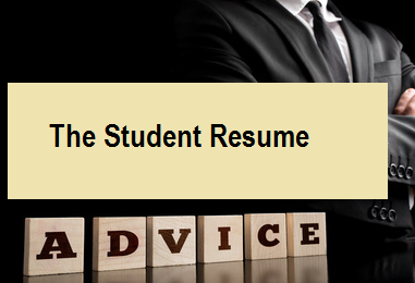 The Student Resume