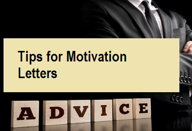 Tips for Motivation Letters