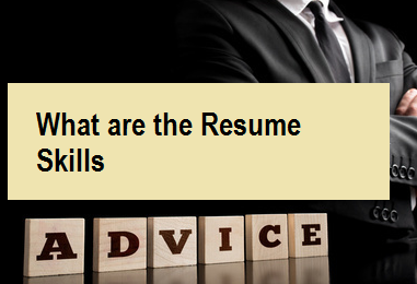 What are the Resume Skills