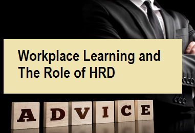 Workplace Learning And The Role Of HRD